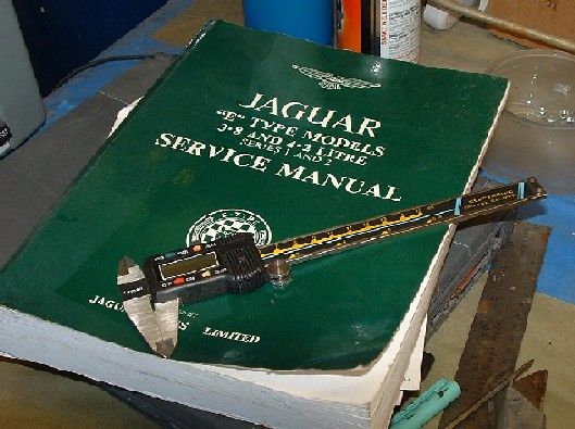 273751886 Here are two of your best friends when rebuilding things A good caliper and  the shop manual. I typically start by reading as much as I can in the shop  ...